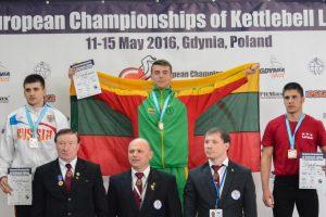 Į Lietuvą parvežtas Europos čempionato auksas