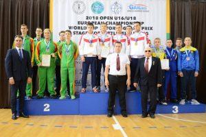 IUKL Europos jaunių (U-16 ir U-18) svarsčių kilnojimo čempionatas