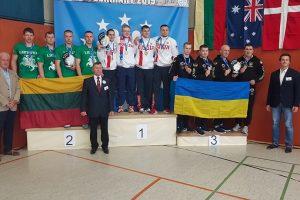 IUKL Europos svarsčių kilnojimo čempionato rezultatai